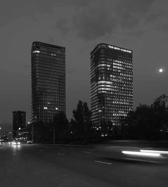 Talan Towers, Astana Kazakhstan