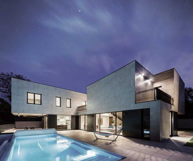 Main Arhitects - Porodična kuća na Senjaku, Beograd, Srbija (Fotografija: Miloš Martinović)
